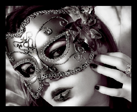 Le masque célèbre noir pour la personne